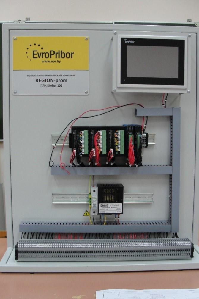контроллер Simbol-100 и сенсорная HMI панель
