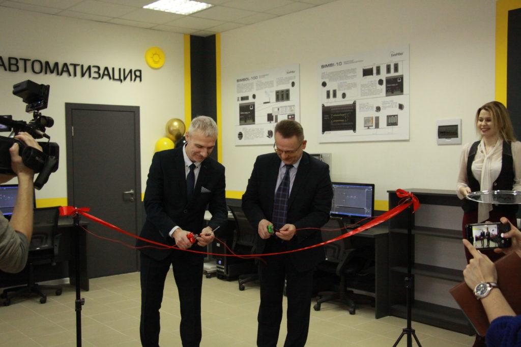 Открытие учебно-исследовательской лаборатории «Европрибор» на базе УО «ВГТУ»
